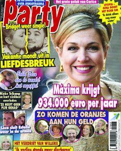 Proefabonnement: 4x Party € 7,50: Party: iedere week de heetste nieuwtjes uit de wereld van showbiz, televisie, politiek, royalty en mode. Nu 4 nummers voor maar 7,50!