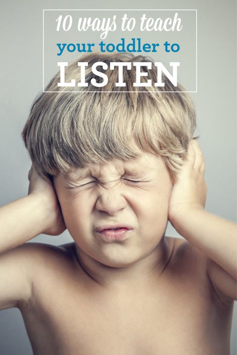 Advice on How to Get Your Toddler to Listen