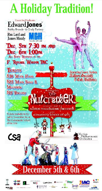 The Nutcracker Marion Indiana | Marion Community School of the Arts | Marion Philharmonic Orchestra | Marion Indiana | Grant County Indiana