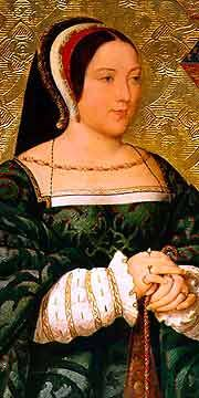 Margaret Tudor in ihren späteren Jahren, Darstellung des 19. Jh.s