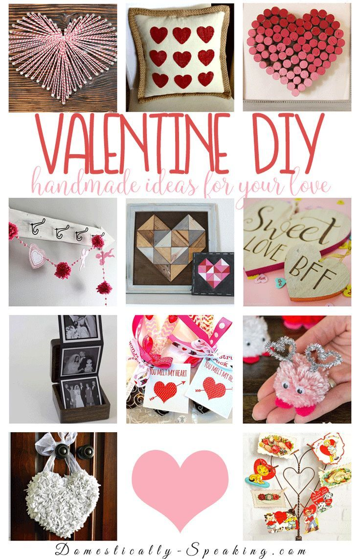 Handmade Valentine Diy Projects Valentines Diy Valentine S Day