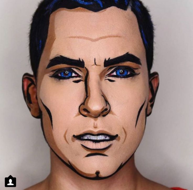 Best 25+ Mens halloween makeup ideas on Pinterest | Maquillage ...