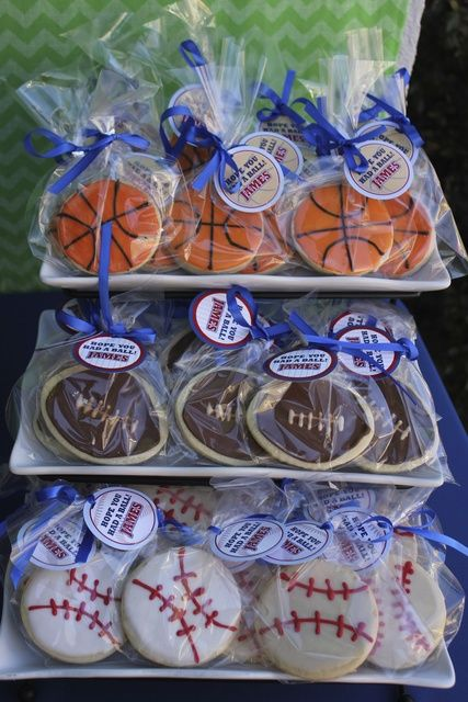 Sports Birthday Party Ideas | Photo 1 of 13 | Catch My Party
