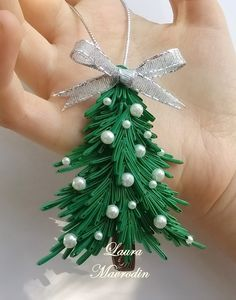diy quilled christmas ornaments - Google Search