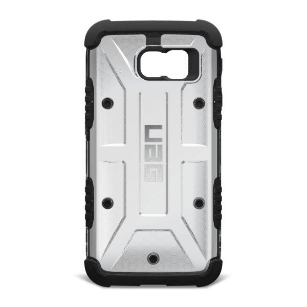 UAG Samsung Galaxy S6 Hybrid Case w/ HD Screen Shield - Ice (Clear)