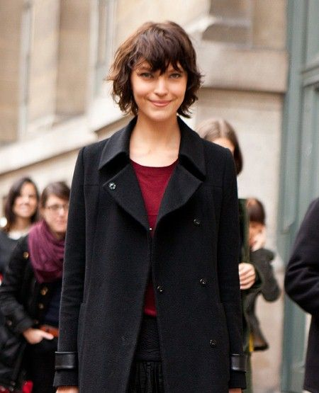 Shaggy bob hairstyles in pictures - love her style