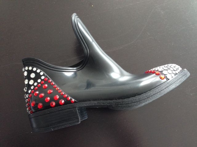galoches con strass #enricomieleshoes
