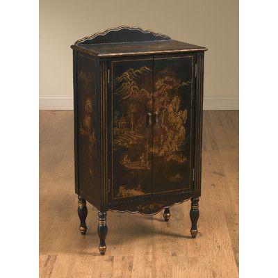 AA Importing 2 Door Oriental Cabinet. Accent FurnitureHome ...