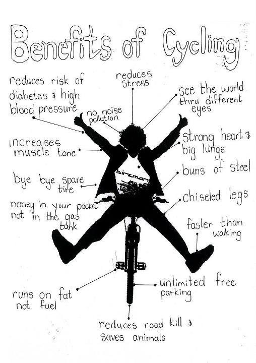 Benefits of cycling: Stuff, Bikes, Fitness, Cycling, Biking, Healthy, Exercise, Benefits, Bicycle