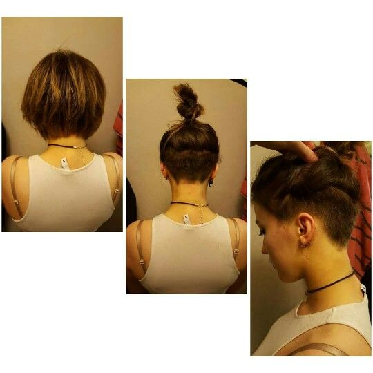Choppy undercut bob                                                                                                                                                      More