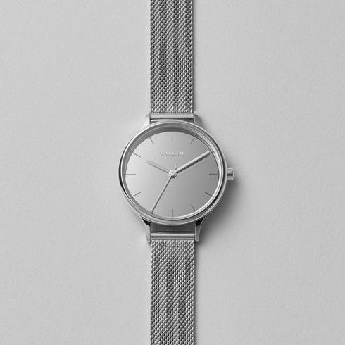 Anita Mirror Steel Mesh Watch | SKAGEN® | Free Shipping
