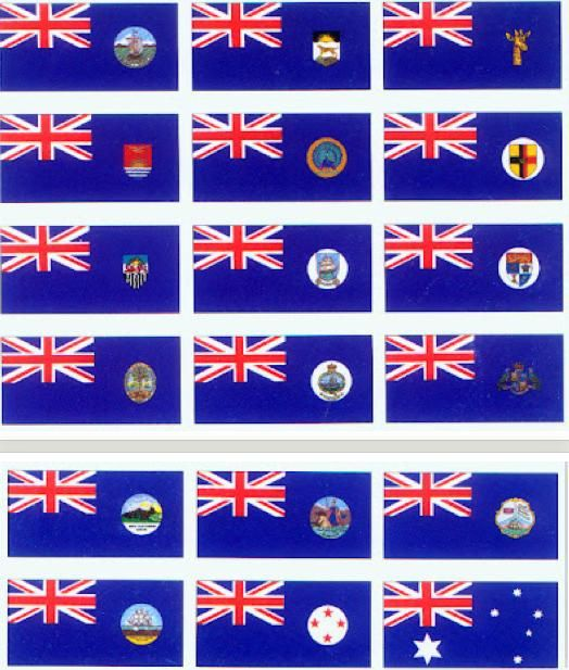 australian flags history