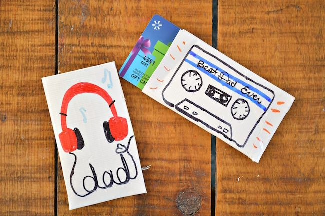 Last-minute gifts for Father's Day: DIY gift card holders from Mad in Crafts