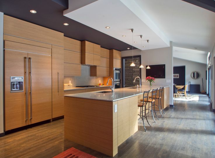 1398 best moderne Küchen images on Pinterest Kitchen modern - küchenfronten neu gestalten