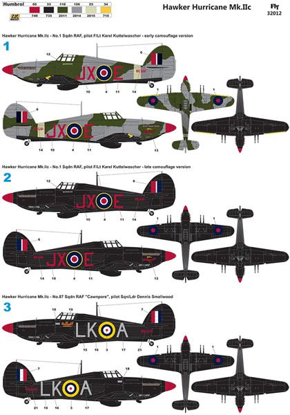 Fly Model Kit No. 32012 - Hawker Hurricane Mk. IIc Review by Jim Hatch: Image