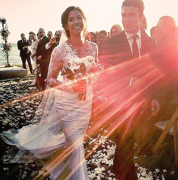 Soccer players Alex Morgan and Servando Carrasco Wedding