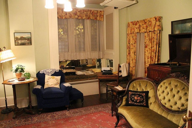"""The room where Margaret Mitchell wrote """"Gone with the Wind"""" by Atlanta History Center, via Flickr"""