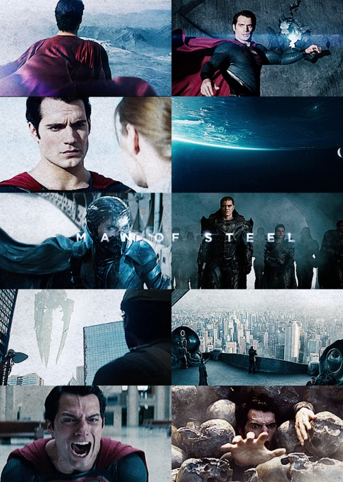 Man of Steel - Henry Cavill <--incredible acting