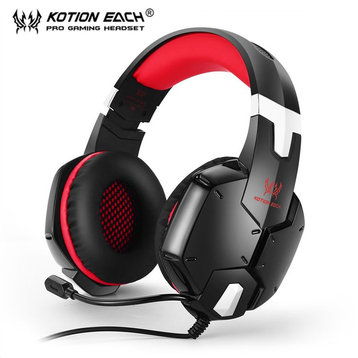 Gaming Headphone KOTION EACH 3.5mm Game Headset Noise Canceling Headband Headphones with Mic Microphone for PC Laptop Cell Phone looks fine in design, features and function. The best accomplishment of this product is in fact simple to clean and control. The design and layout are totally astonishing that create it truly interesting and beauty...** View the item in details by clicking the VISIT button..