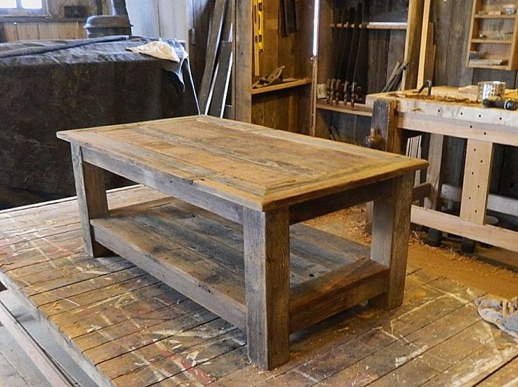 wooden coffee tables. handcrafted from 100yr old barn wood. coffee table | reworkshop: woodworking pinterest wood tables, and wooden tables f