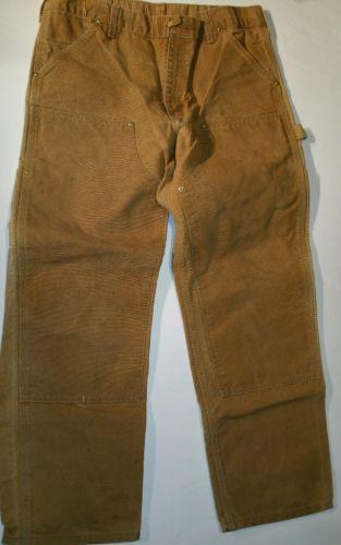 Carhartt Mens Work Pants Size 36x 30