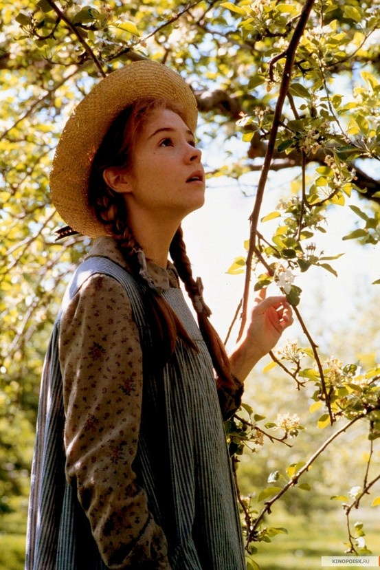 Anne of Green Gables--ahhh, this movie, along with Anne of Avonlea, made up such a sweet part of my childhood!