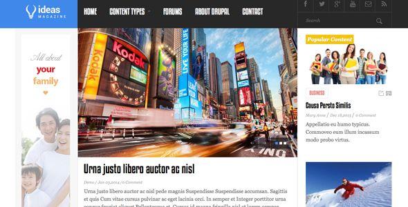 Juno Magazine Responsive Drupal Theme