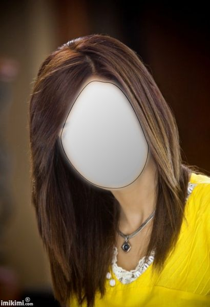 Click to add your face. Good for seeing if this hair color would look good on you. There are lots more on imikimi.com, you could do a whole virtual makeover with their stuff.