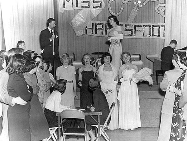 Womanless Beauty Pageant Univ Of Wisc Madison 1951