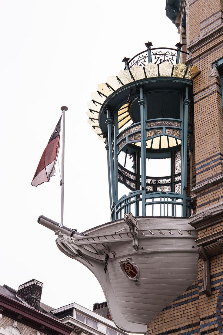 Antwerpen - eine Reisegeschichte mit Blick nach oben