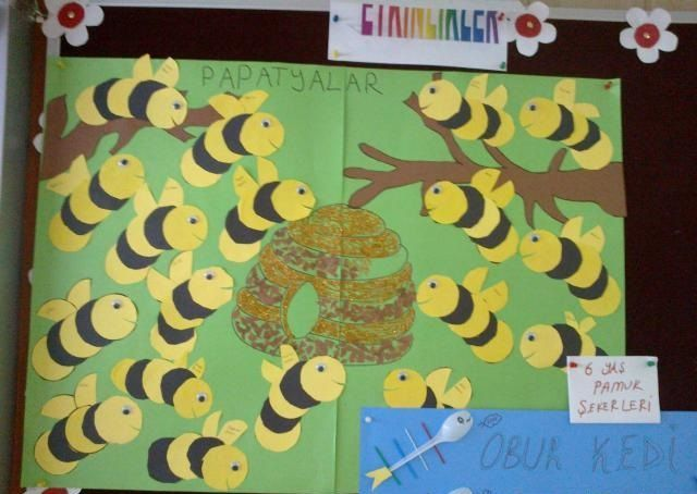 Bee Bulletin Board Idea For Kids 2
