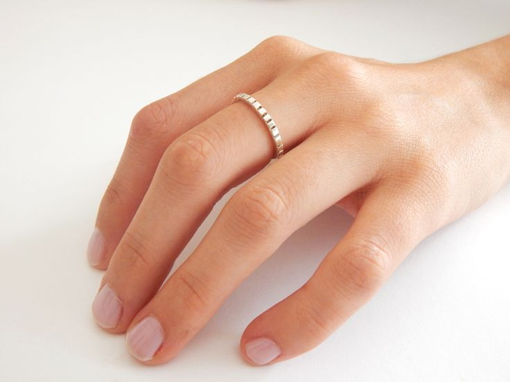 Handmade STONE Sterling Silver Ring