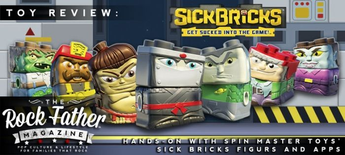 Hands-On: SICK BRICKS - Spin Master Toys' New Cross-Genre Toy and Game! #SickBricks #SickWeek