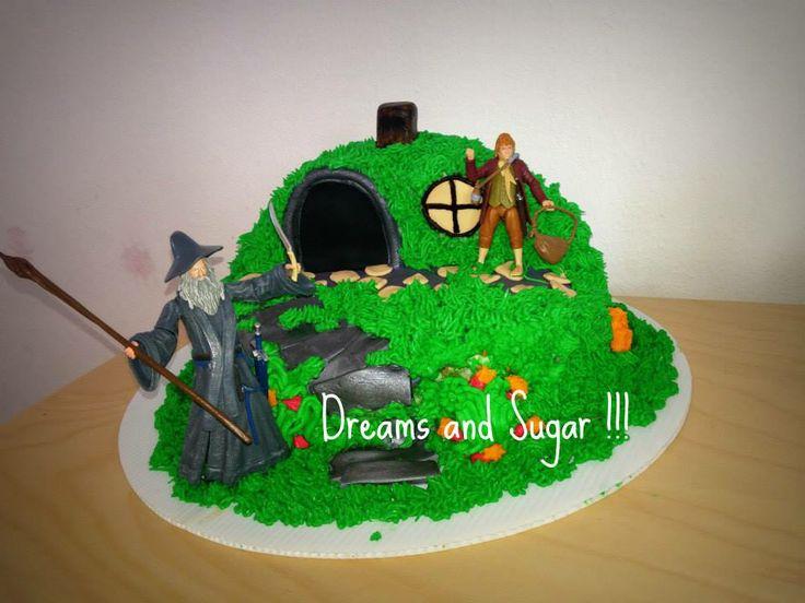 the hobbyt cake !