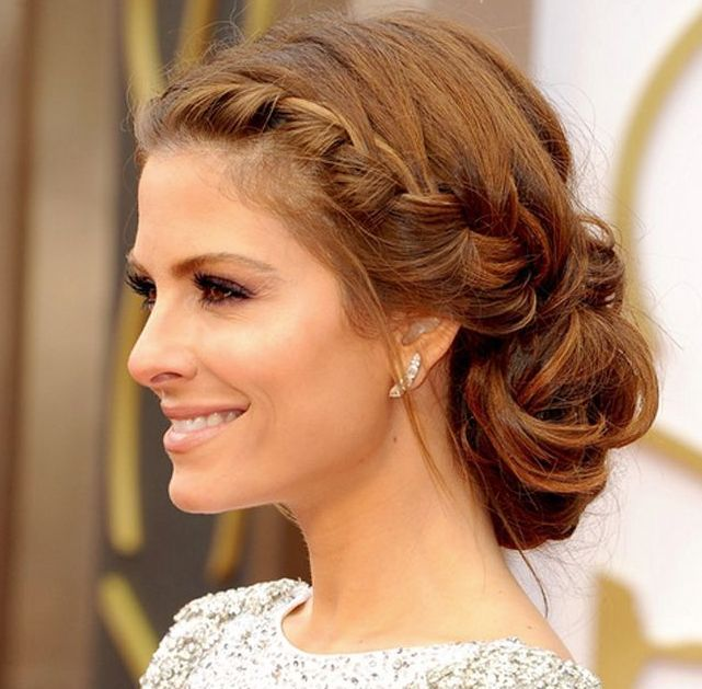 Loving this up-do!