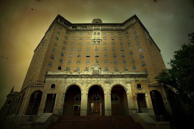 Baker Hotel in Mineral Wells, TX is a hot spot for paranormal enthusiasts.