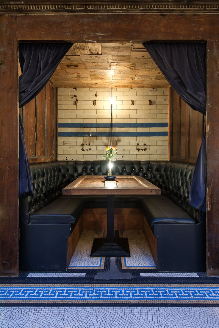 Best restaurant booth ideas on pinterest banquette