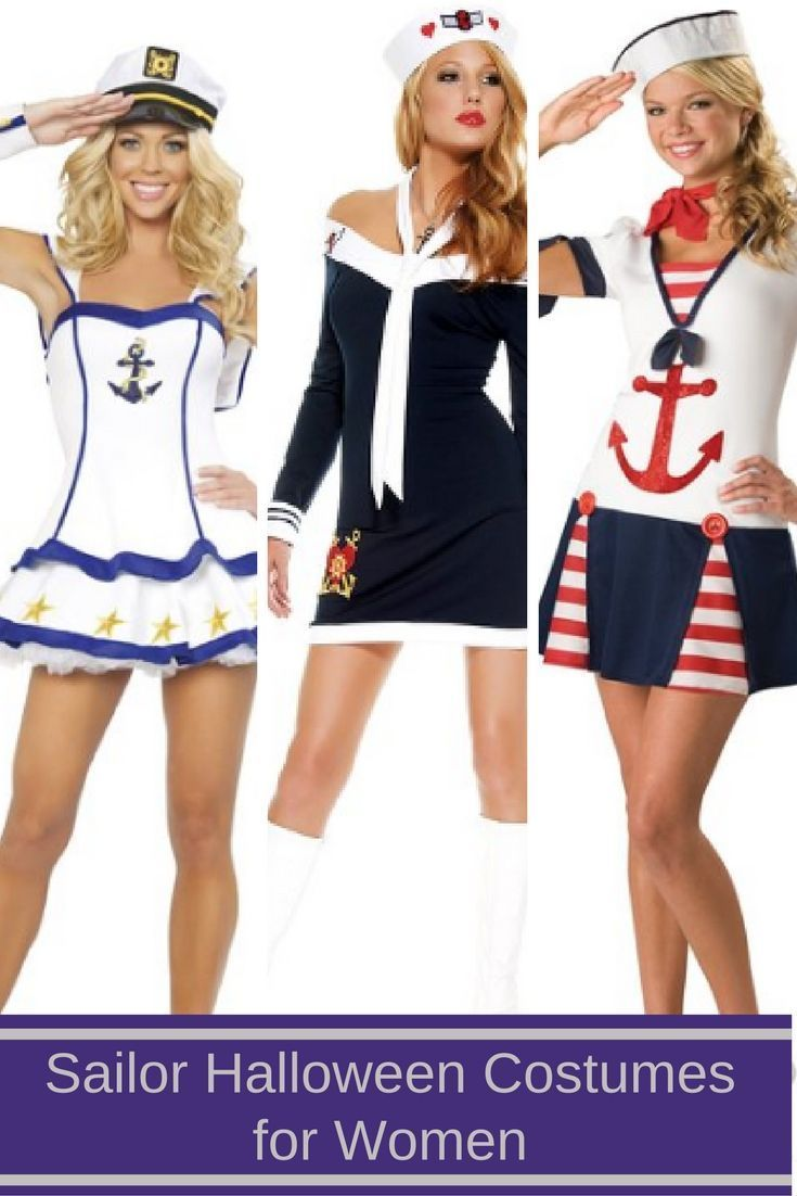 There are so many cool Halloween costumes to pick from for Halloween 2016. This year why not dress up as a playful sexy sailor?  Sexy sailor Halloween costumes rank as one of the most hot Halloween costumes for women this Halloween.