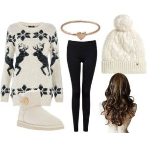 Winter Outfit with UGG boots