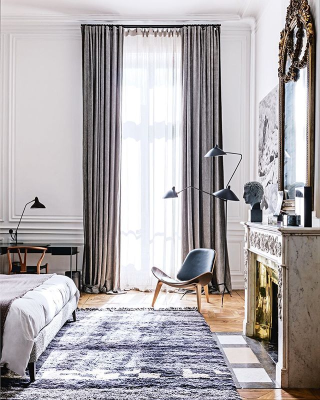 COVER STORY: The Jan/Feb 2017 issue of Vogue Living features a spectacular 18th-century apartment in Lyon. Here, a view of the stunning main bedroom, desk from Sarah Lavoine; bust from Galerie du Désordre in Lyon. For more, see the Jan/Feb 2017 issue on sale now. 📷by @felix_forest #VogueLiving #loveVL #newissueoutnow #decoration #design #bedroom #inspiration #interiors by #maisonhand @maison_hand_fr Architect #michelbessoud @sarahlavoine @galeriedudesordre