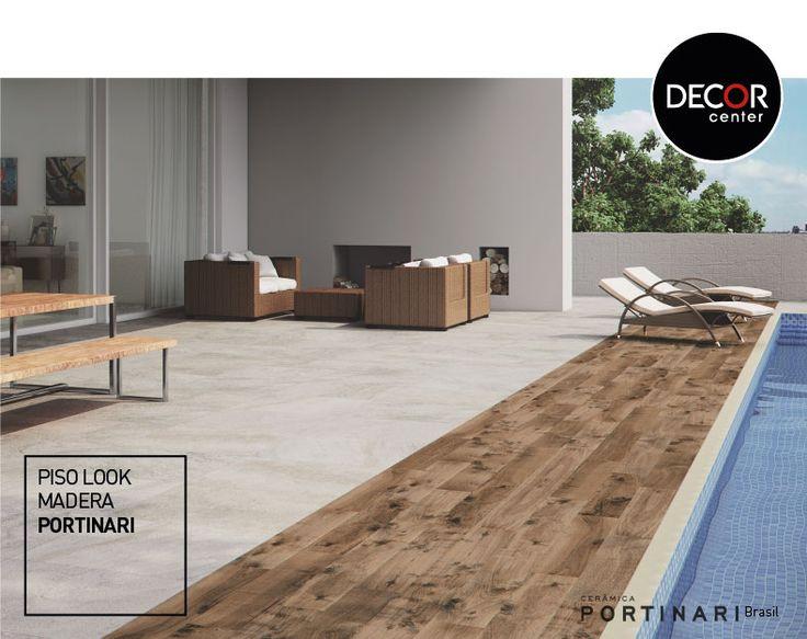 #porcelanato #lookmadera #diseño #terraza #piscina