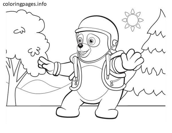 7 best Agent oso coloring pages images on Pinterest Free