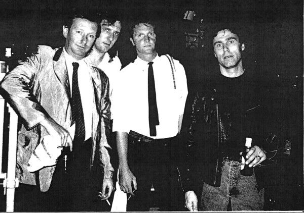 Dr FEELGOOD in Lillers '89. © Patrick HIGGINS