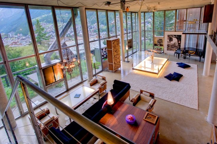 The Heinz Julen Loft in Zermatt, Switzerland | HomeDSGN, a daily source for inspiration and fresh ideas on interior design and home decoration.