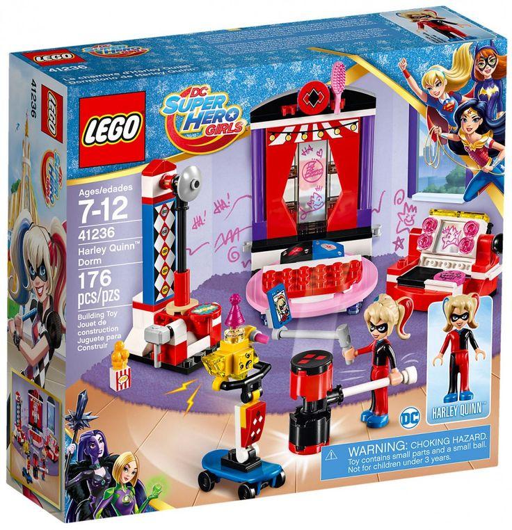 LEGO DC Super Hero Girls 41236 : La chambre d'Harley Quinn - Juin 2017