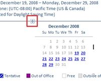 Add a Mini Calendar to Outlook's Out of Office Reply