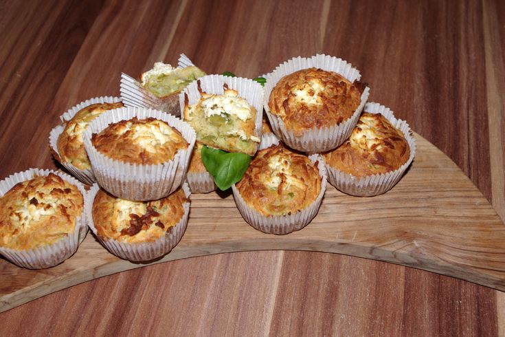 #Savory #Muffins, with Brussels Sprouts, Carrot and Feta Cheese