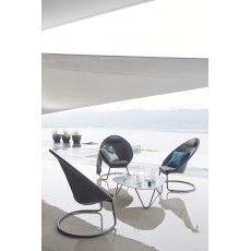 Lafuma Cocoon Volcanic Lounge Sun Coffee Table