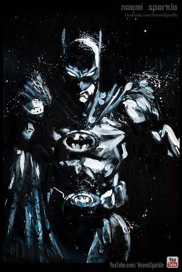 #batman #art #drawing #painting #noemisparkle #design #comics #youtube #howto #cool #amazing