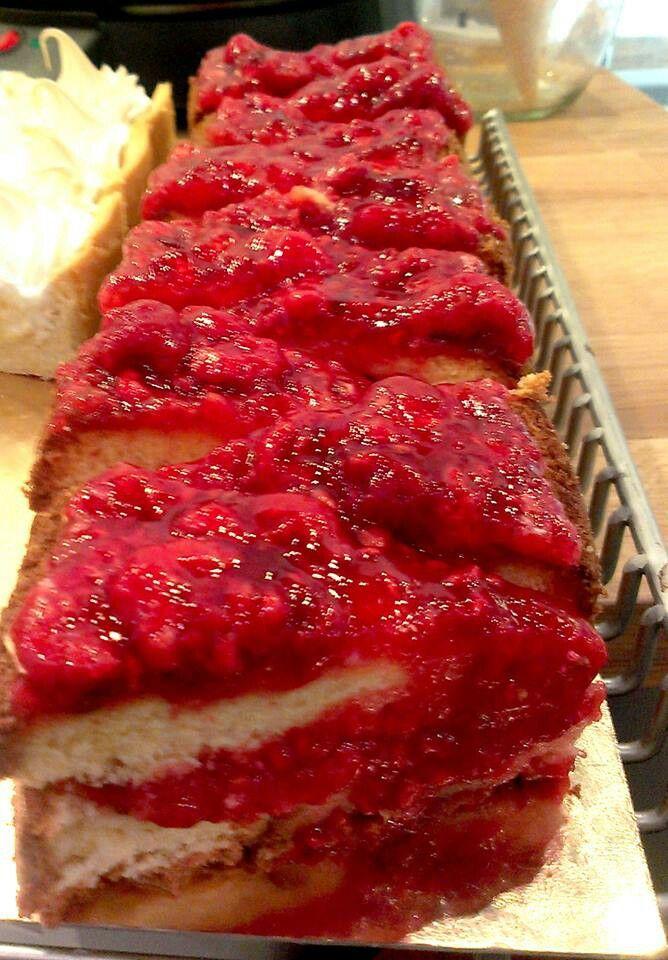 fehércsokis málna torta - Cake Shop Budapest